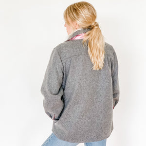 the BRISTER in grey wool