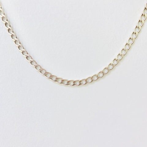 silver statement chain