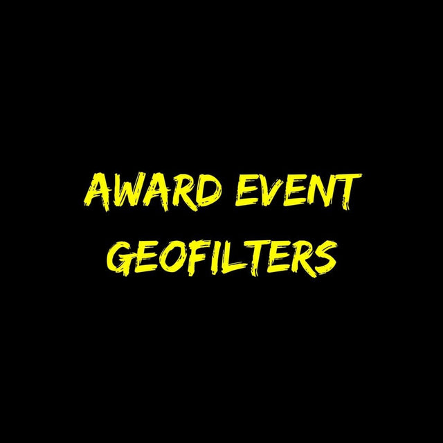 Award Event Geofilters