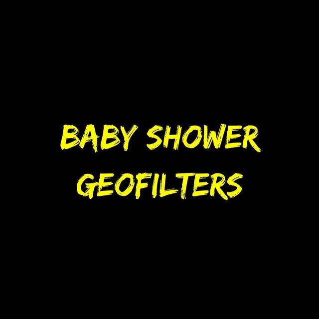 Baby Shower Geofilters