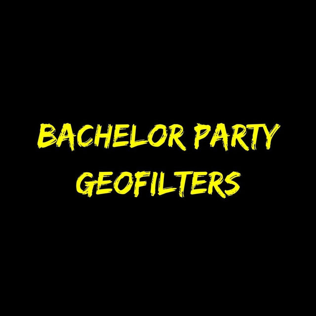 Bachelor Party Geofilters