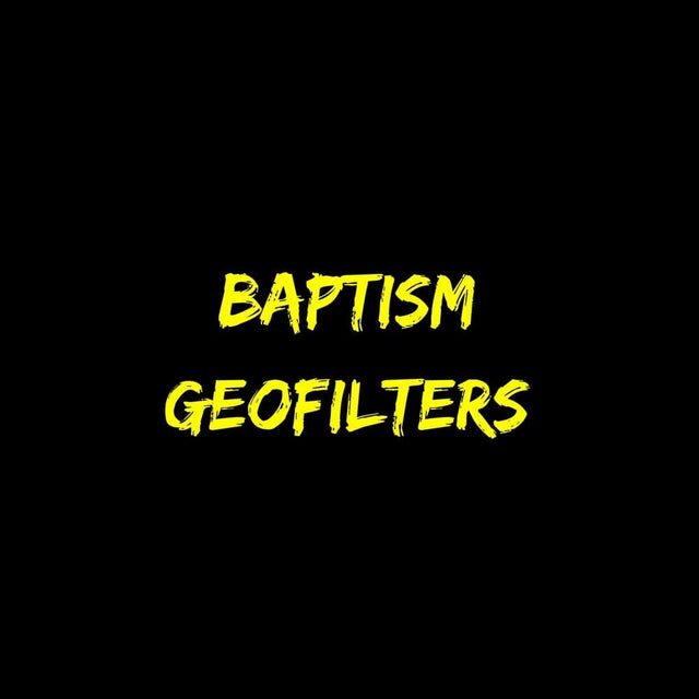 Baptism Geofilters