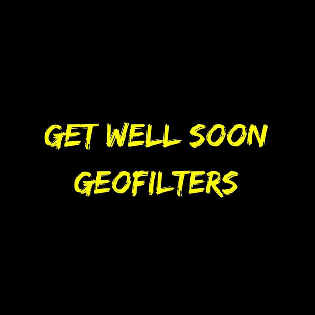 Get Well Soon Geofilters