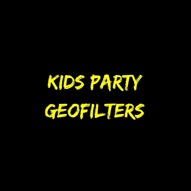 Kids Party Geofilters