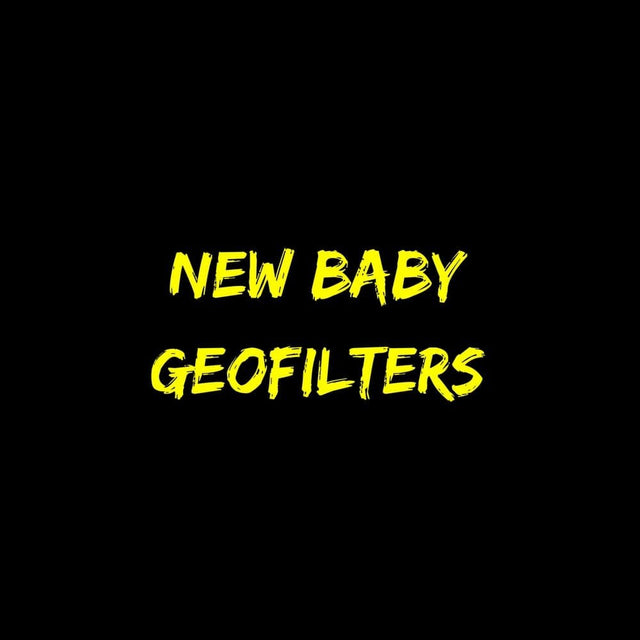 New Baby Geofilters