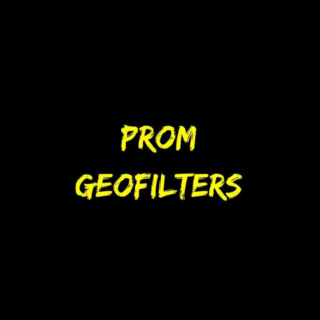 Prom Geofilters