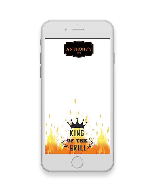 King of the Grill Geofilter