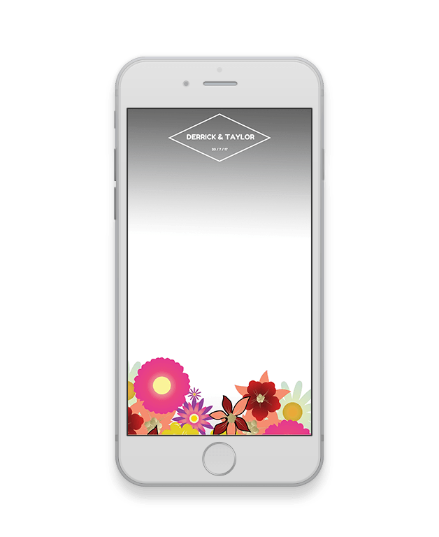Floral Wedding Geofilter-Wedding-The Geo Factory-The Geo Factory