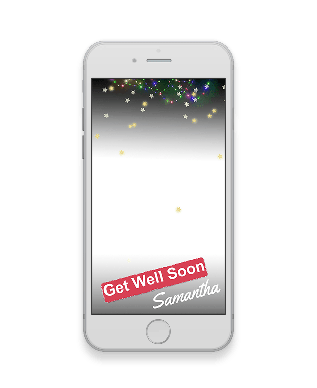 Flashlight Get Well Soon Geofilter-Get Well Soon-The Geo Factory-The Geo Factory