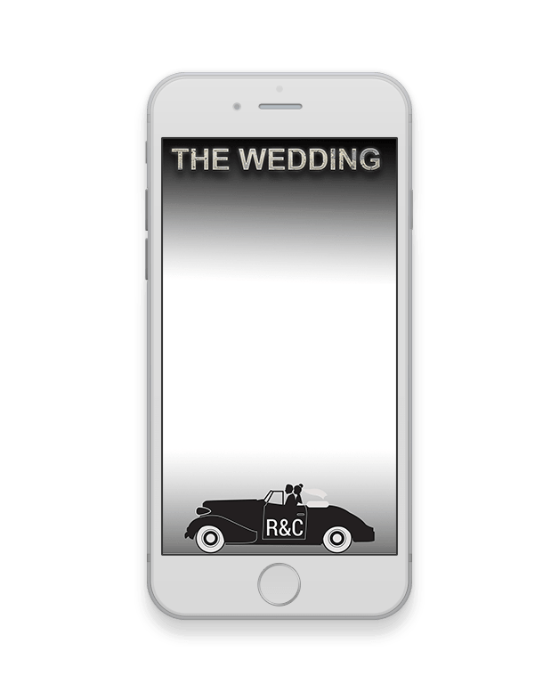 Convertible Wedding Geofilter-Wedding-The Geo Factory-The Geo Factory