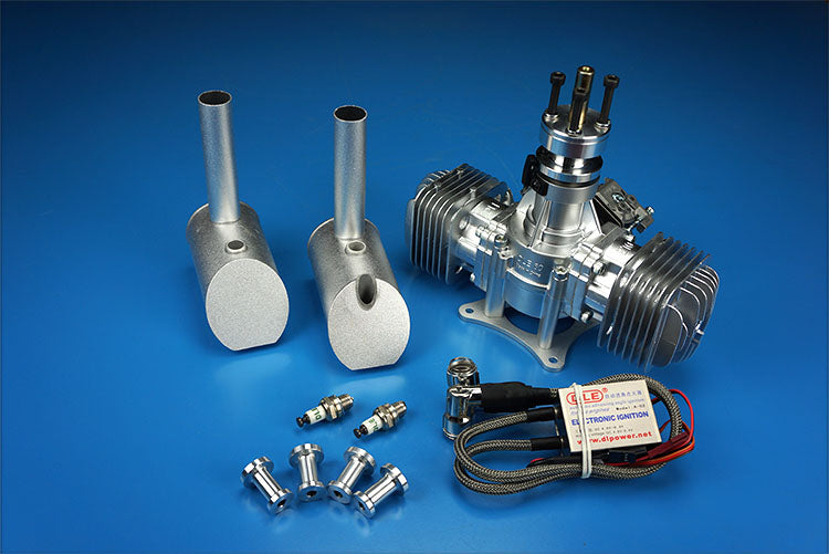 DLE 60, 60CC Twin Engine for RC airplane