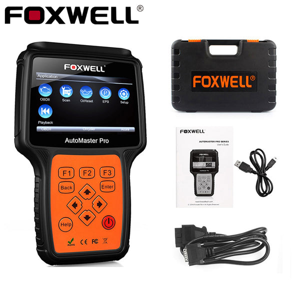 FOXWELL NT624 PRO OBD2 Diagnostic Tool All Systems Automotive Scanner