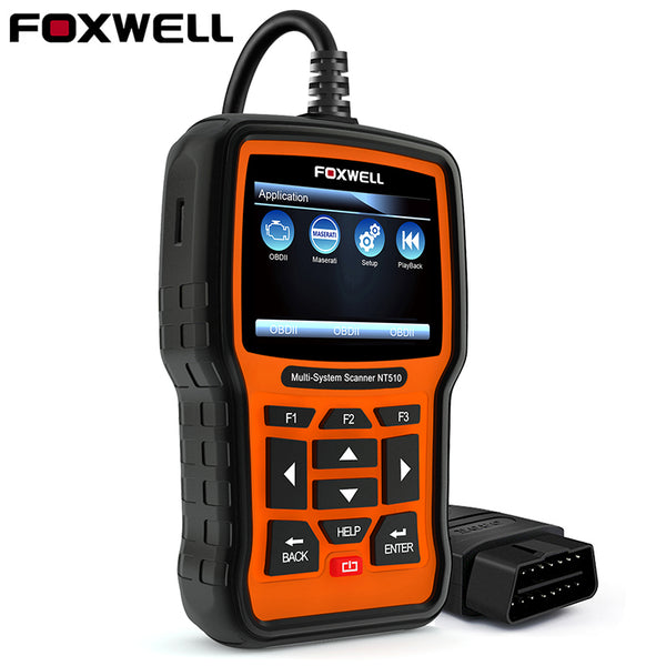 Foxwell NT510 OBD2 Diagnostic Tool for Full System multi vehicles