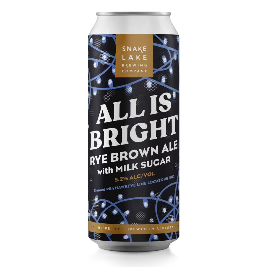 All Is Bright Rye Brown Ale with Milk Sugar