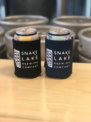 Snake Lake Beer Can Koozie
