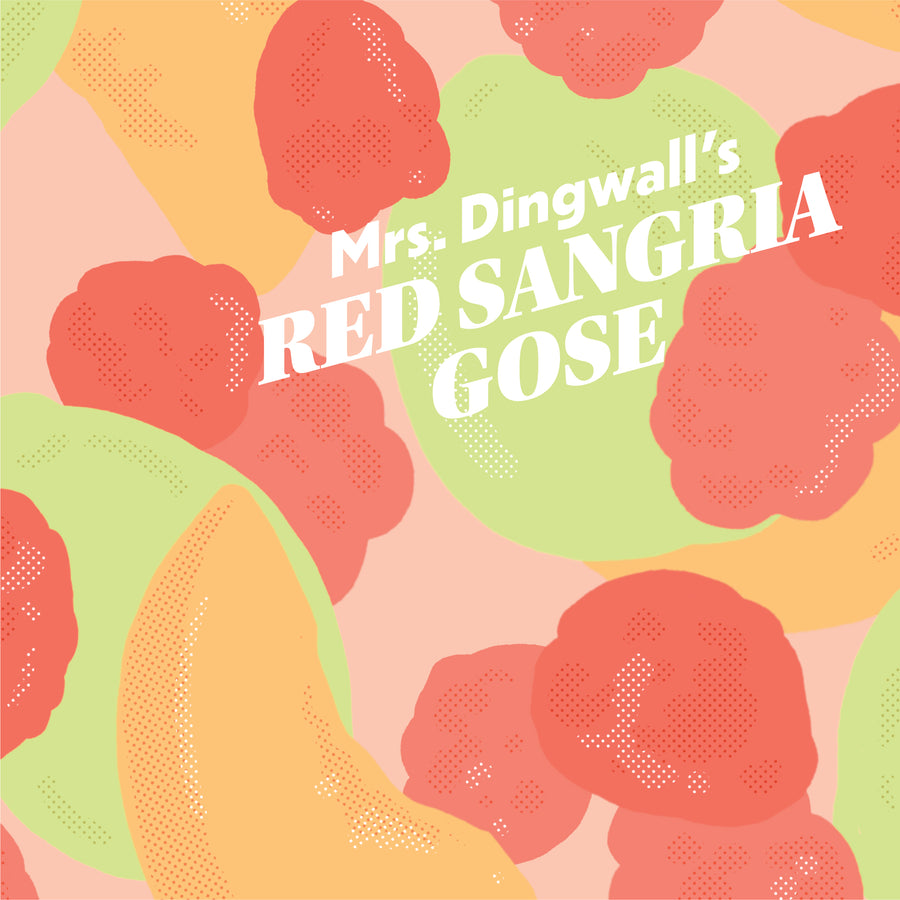 Mrs. Dingwall's Red Sangria Gose