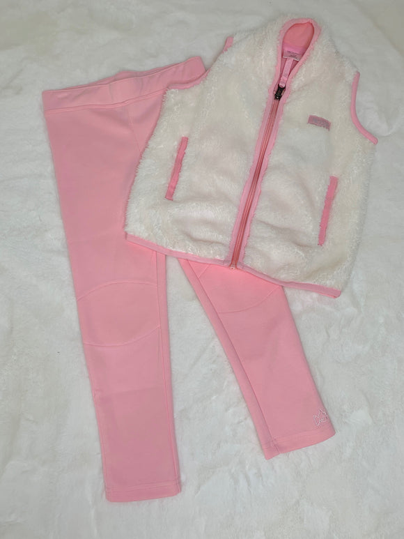 Prodoh Girls Pink Leggings