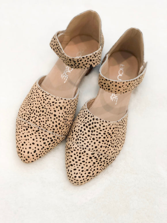 Brown Speckled Flats