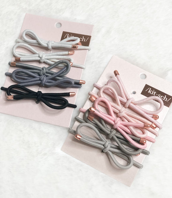 kit.sch Bow Hair Ties