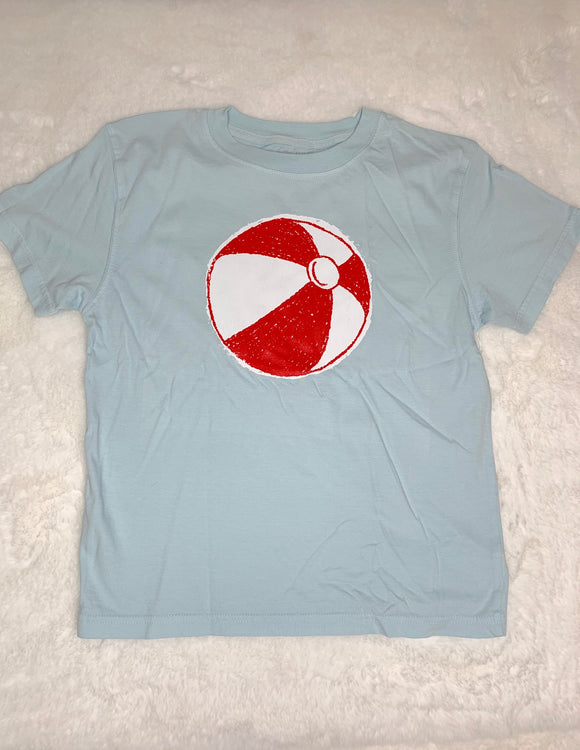Mustard and Ketchup Beach Ball Shirt