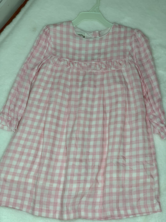 The Oaks Plaid Collared Dress
