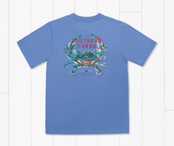 Southern Marsh Youth Crab Tee