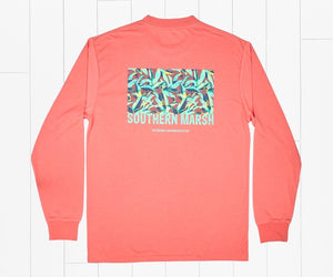 Southern Marsh Performance Long Sleeve Tee