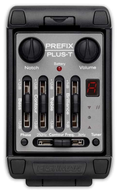 Fishman Prefix Plus-T pickup controls