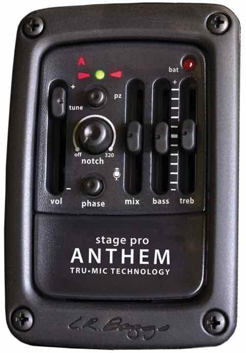 LR Baggs Stage Pro Anthem controls