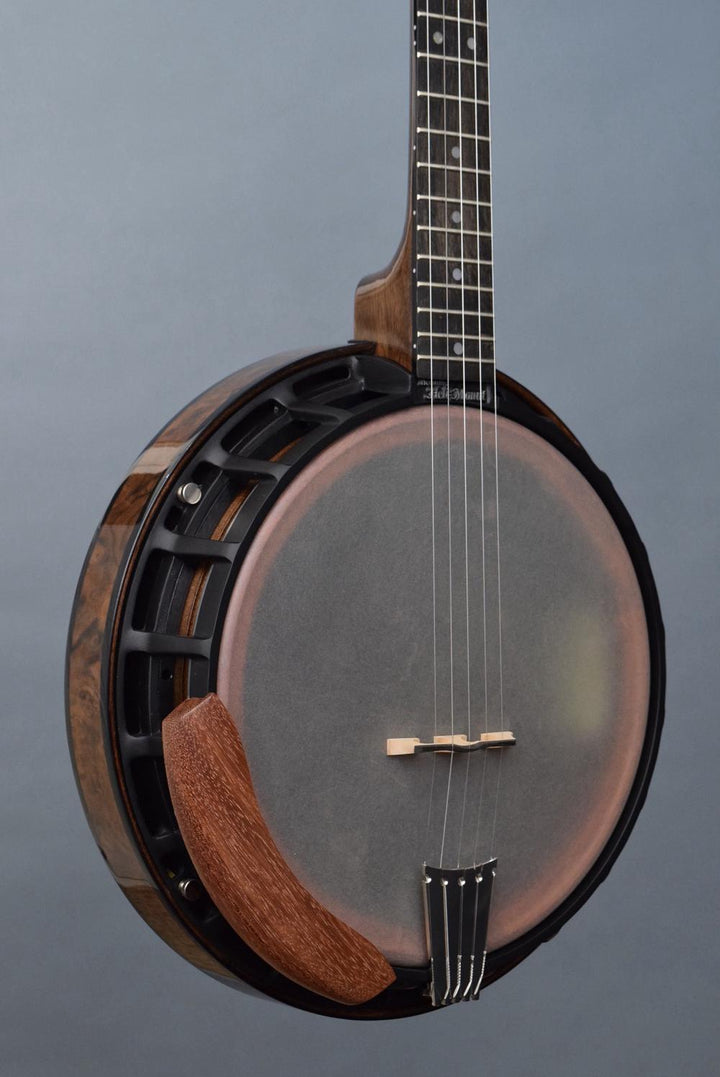 Nechville Saturn w/ Burl Walnut Resonator Banjo (#2804)