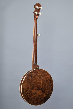 Nechville Saturn Custom w/ Burled Walnut Resonator and Maple Binding