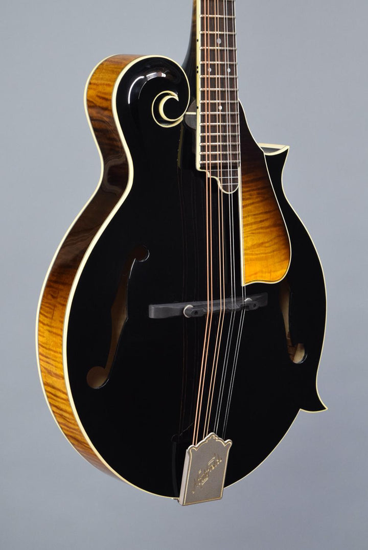Northfield Big Mon Black Top F-Style Mandolin
