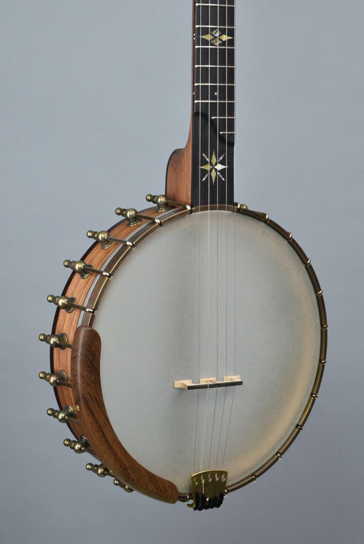 "Ome North Star 11"" Open Back Banjo & Radius Fingerboard"