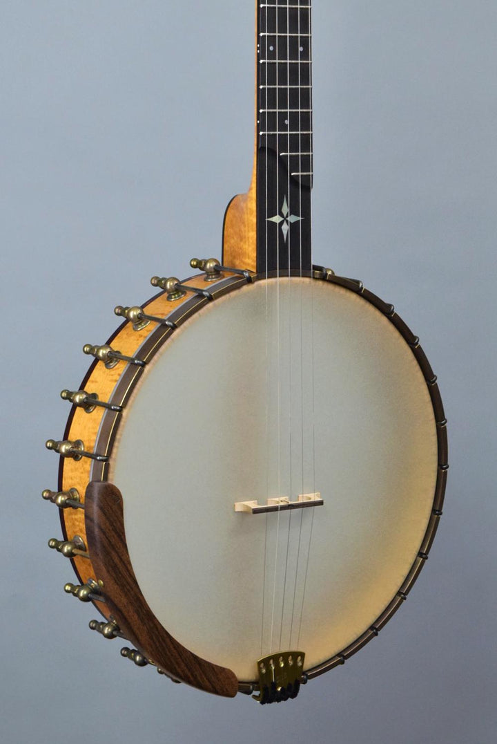 "Ome Wizard 12"" Open Back Banjo w/ Curly Maple Neck & Rim"