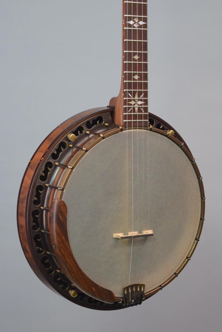 OME North Star 5-String Bluegrass Banjo w/ Walnut Neck & Resonator