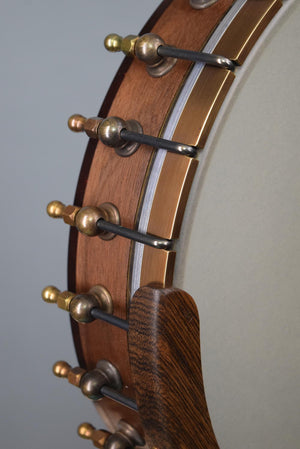 "OME Eclipse Custom 12"" Open Back Banjo w/ Silverspun Tone Ring & Walnut Neck/Rim"