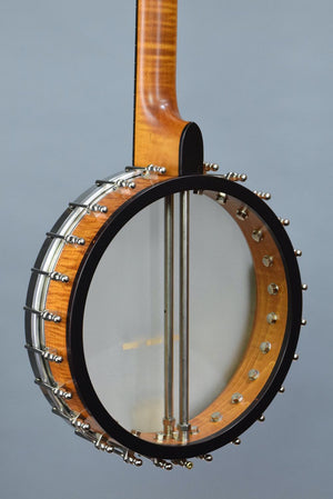 "OME Juniper 11"" Open Back Banjo w/ Curly Maple Neck & Rim"