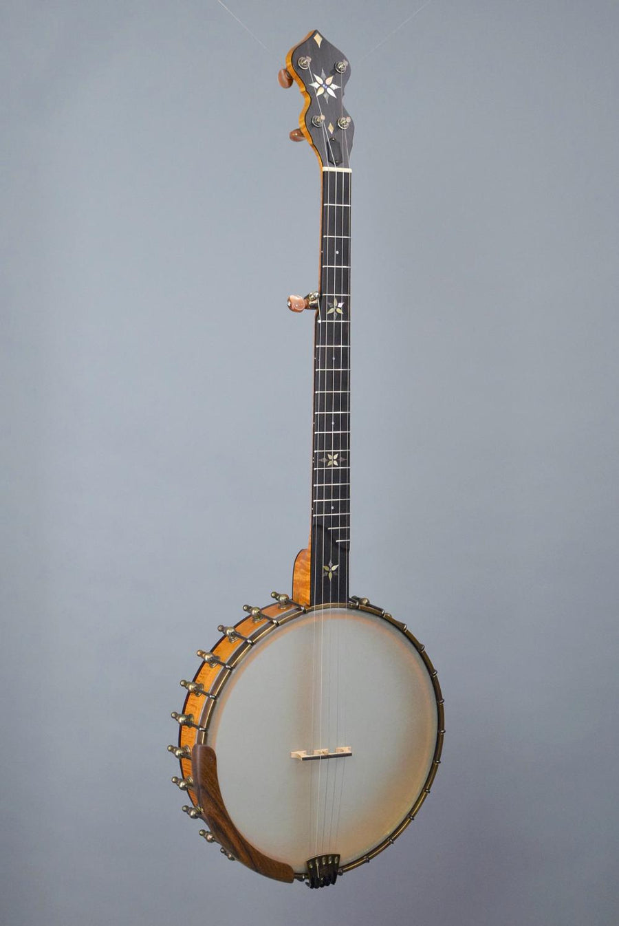 "OME Mira 12"" Open Back Banjo w/ Curly Maple Neck & Rim"