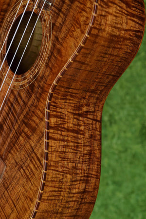 Palm Tree Ukulele No. 121 (Style 3 Koa Tenor)