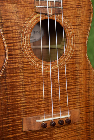 Palm Tree Ukulele No. 122 (Style 3 Koa Tenor)