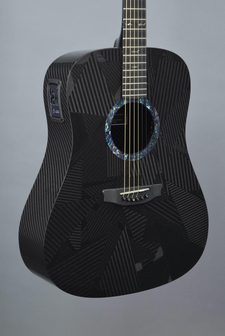 "RainSong BI-DR1000N2 ""Black Ice"" Carbon Fiber Dreadnought Acoustic Guitar"