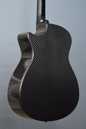 "RainSong BI-OM1000N2 ""Black Ice"" Carbon Fiber Guitar"