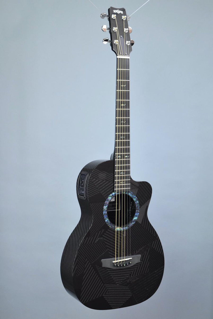 RainSong BI-PA1000NS Parlor Size Carbon Fiber Acoustic-Electric Guitar