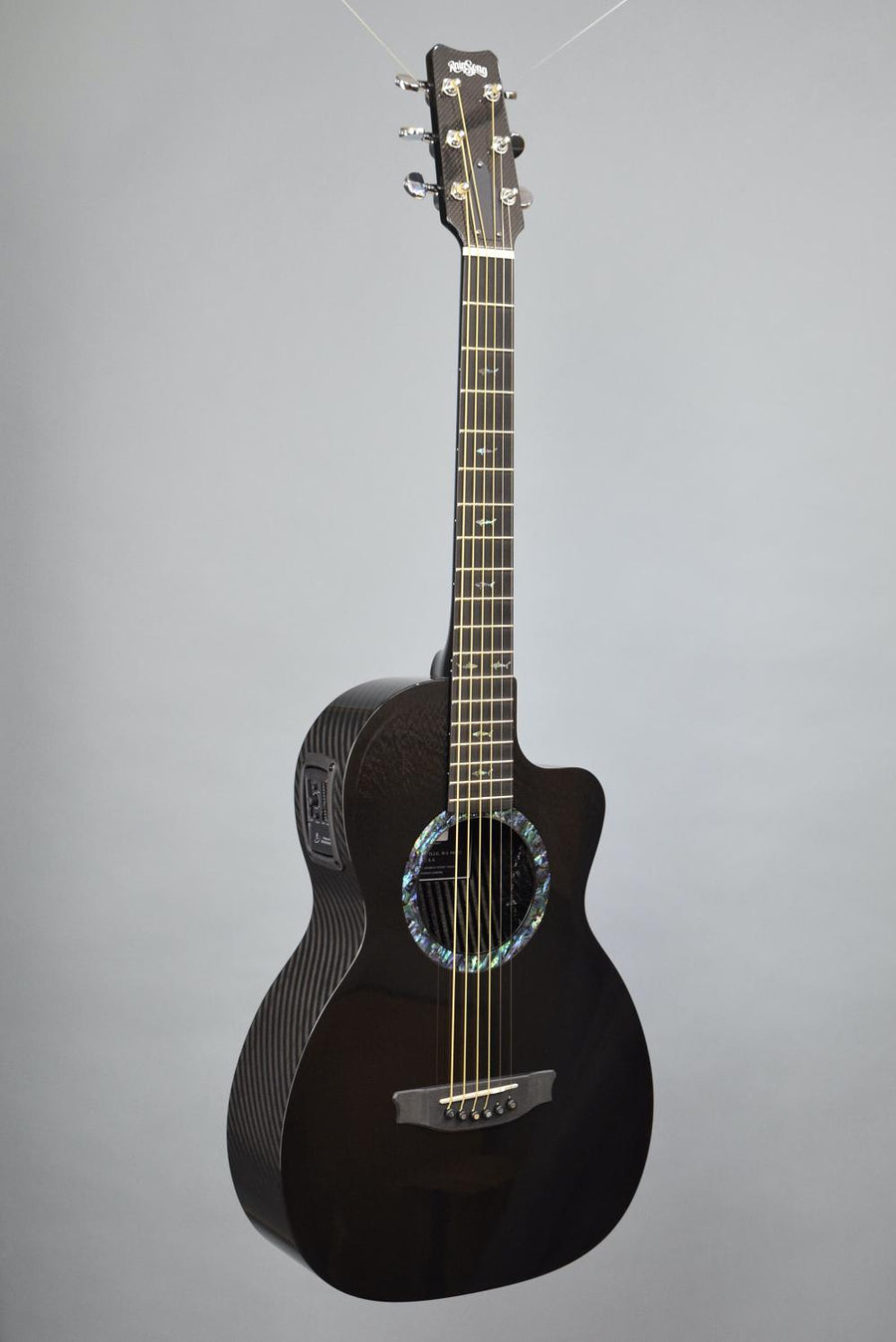 RainSong CO-PA1000NS Parlor Carbon Fiber Guitar