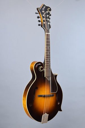 Used Northfield Big Mon F-Style Mandolin w/ K&K & Airloom Deluxe Case