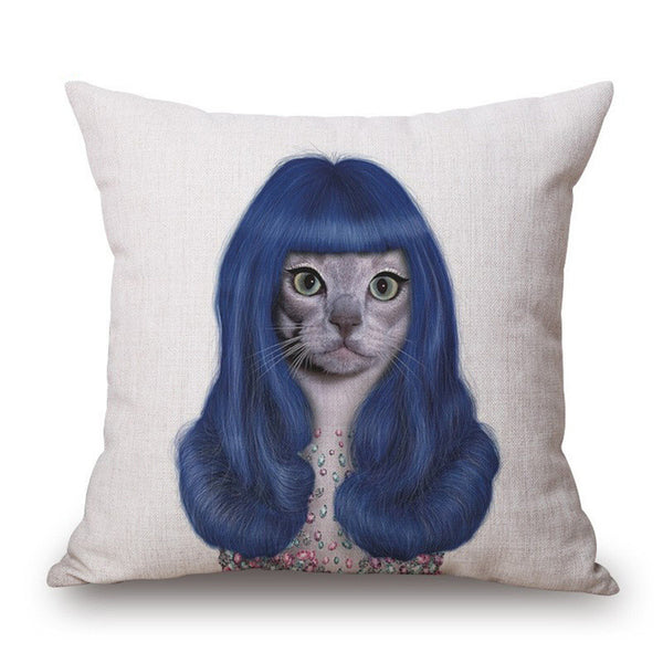 Celebrity Cat Pillow Case Cushion Case