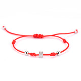Cube Blessed Lucky Red String Bracelet
