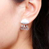 Summer Cloud Stud Earrings