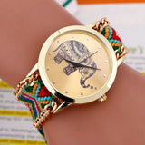 Elephant Quartz Watch with Braided Strap 3