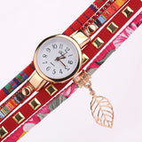 Multi-layered Vintage Watches Red